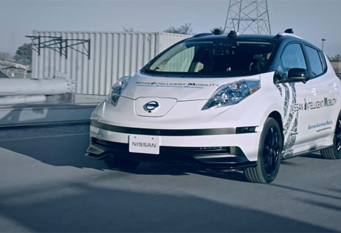 Nissan: menselijke copiloot voor zelfstandige auto #1