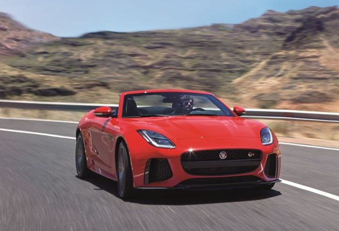 Jaguar F-Type facelift als wereldpremière in Brussel #2