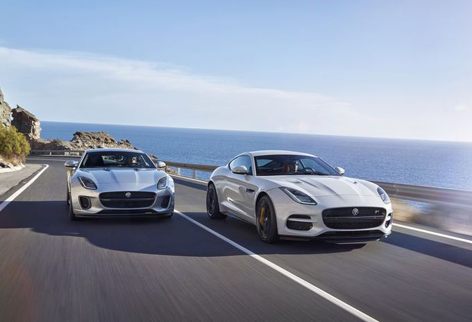 Jaguar F-Type facelift als wereldpremière in Brussel #10