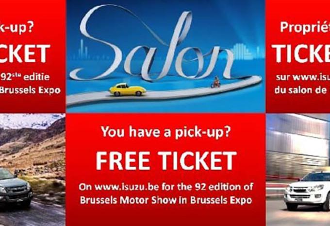 Comment obtenir des entrées gratuites au salon de Bruxelles 2017 #1