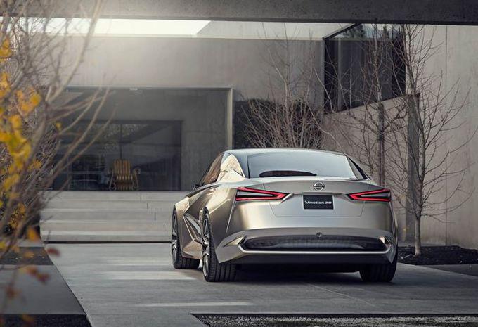 Nissan Vmotion 2.0: concept voor een grote berline #2