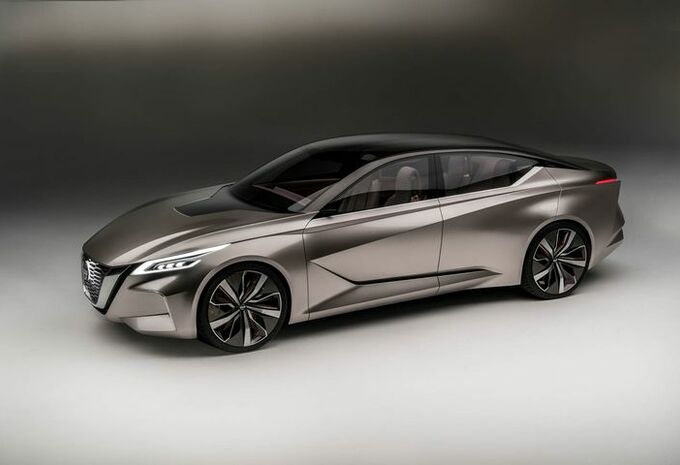 Nissan Vmotion 2.0 : concept de grande berline #7