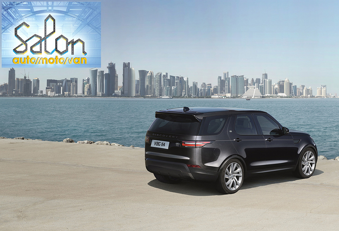 Autosalon Brussel 2017: Land Rover (paleis 6) #1