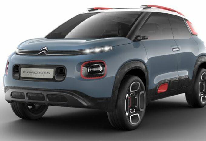 Prototypes et concepts / Citroën C-Aircross Concept : futur C3 Aircross