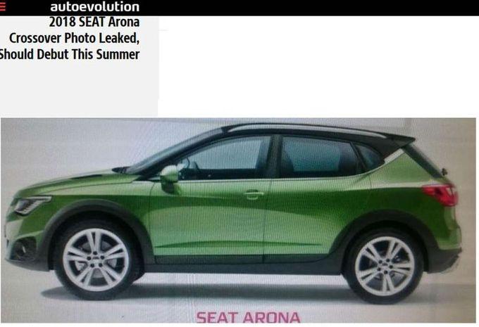 Seat wou de kleine broer van de Ateca, de toekomstige compacte SUV ...