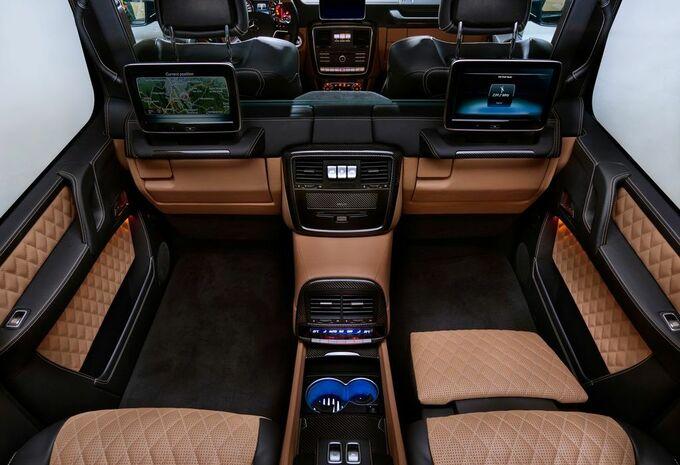 Le Maybach G 650 Landaulet, un 4×4 à 500.000 euros — Mercedes