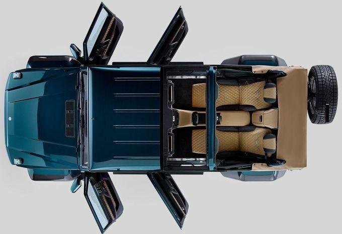 Mercedes G650 Maybach Landaulet: V12 et luxe aéré #4