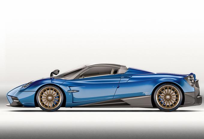 Pagani bouwt 100 exemplaren van peperdure Huayra Roadster #6
