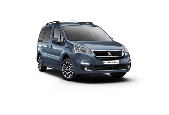 Peugeot Partner Tepee kan nu ook volledig elektrisch #1