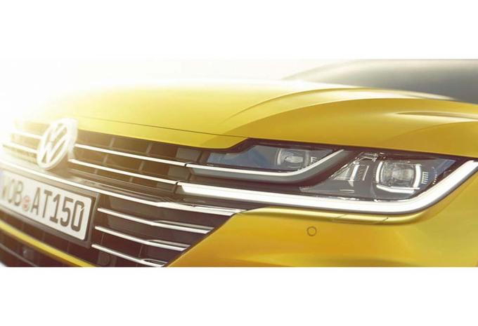 L'Arteon en VIP sur le stand Volkswagen à Genève