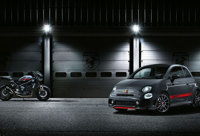 abarth 695 xsr yamaha en 595 pista in gen ve autogids. Black Bedroom Furniture Sets. Home Design Ideas