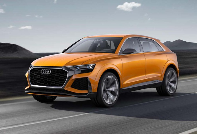 audi q8 sport concept le suv version haut de gamme moniteur automobile. Black Bedroom Furniture Sets. Home Design Ideas
