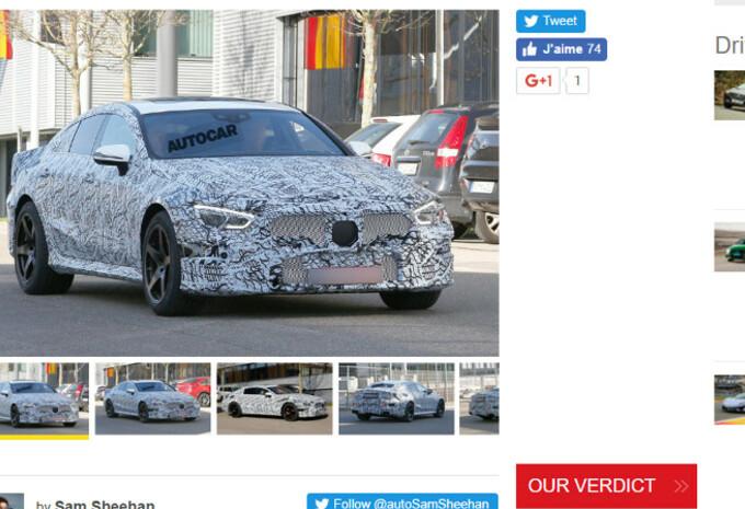 AMG GT 4 portes : elle roule déjà ! #1