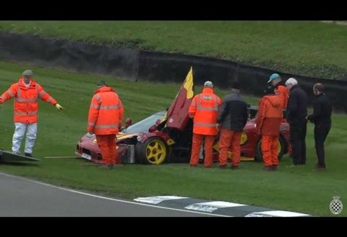 Nick Mason crashe sa McLaren F1 GTR #1