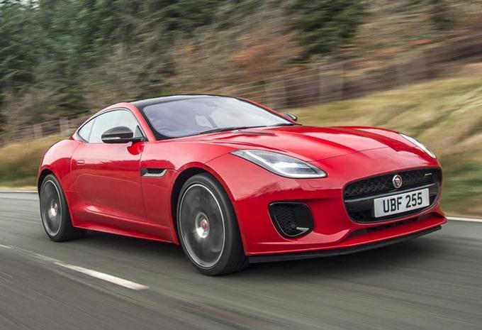 Une version quatre cylindres pour la Jaguar F-Type