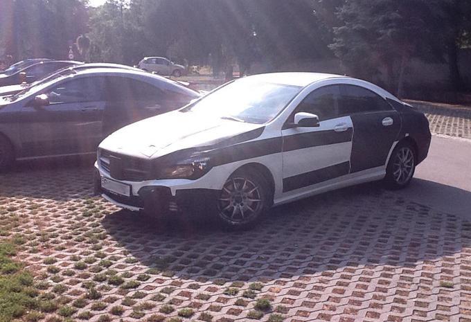 Mercedes CLA betrapt #1