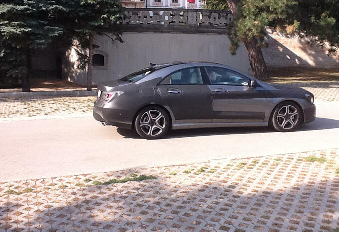 Mercedes CLA capturée #3