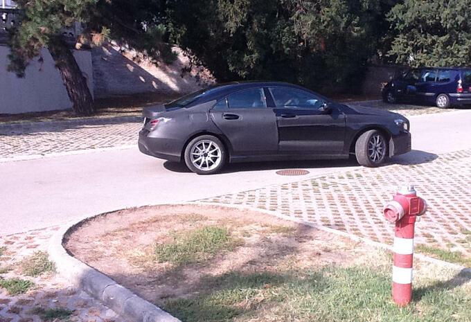 Mercedes CLA capturée #7