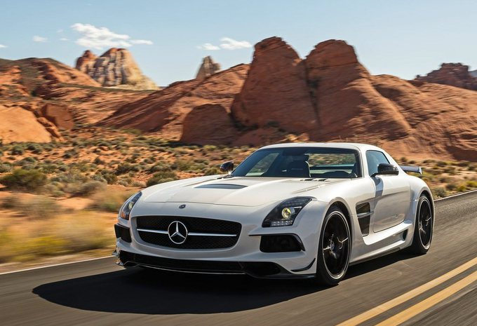 Mercedes SLS AMG Black Series #1