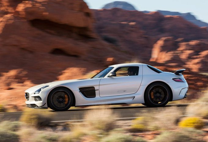 Mercedes SLS AMG Black Series #10