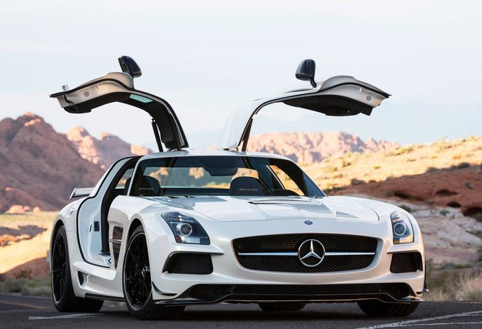 Mercedes SLS AMG Black Series #3