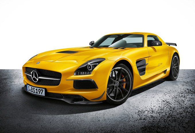 Mercedes SLS AMG Black Series #4