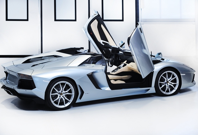 Lamborghini Aventador LP 700-4 Roadster #5