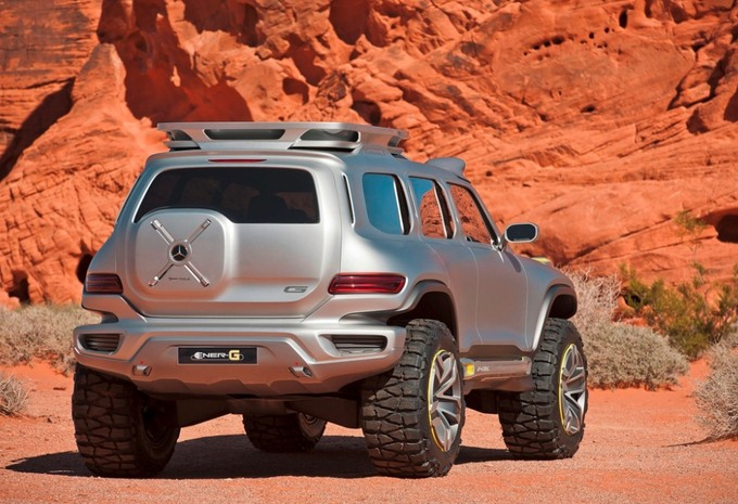 Mercedes Ener-G-Force #2