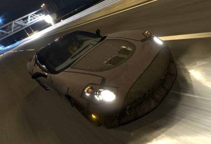 Chevrolet Corvette en virtuel #1