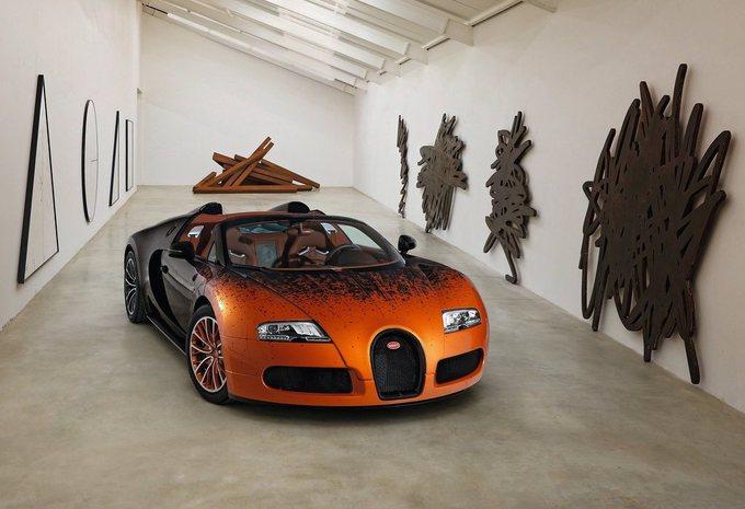 Bugatti Veyron Grand Sport Bernar Venet #1