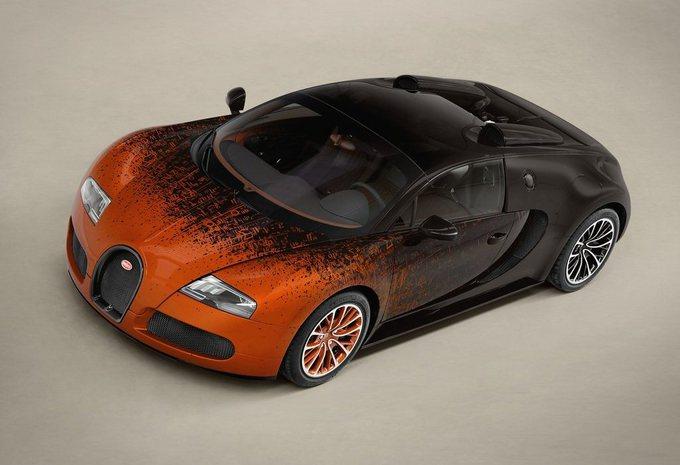 Bugatti Veyron Grand Sport Bernar Venet #5