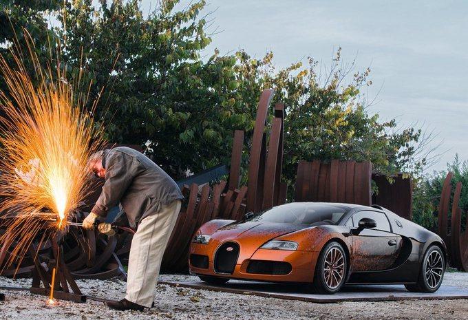 Bugatti Veyron Grand Sport Bernar Venet #6