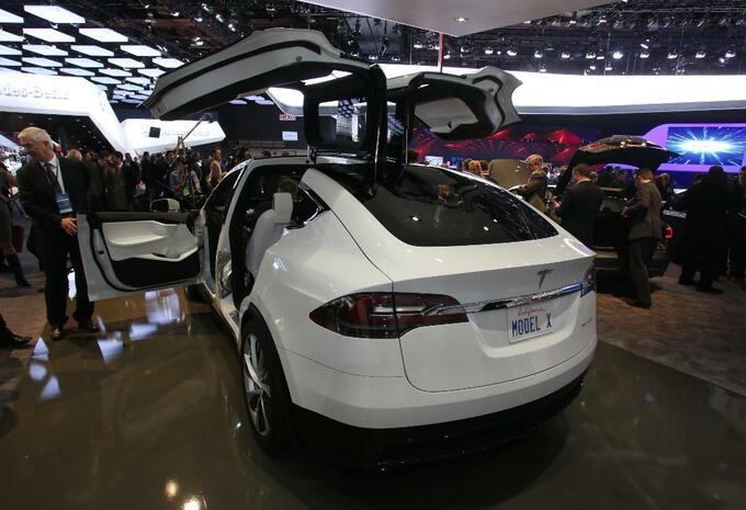 Tesla Model X #1