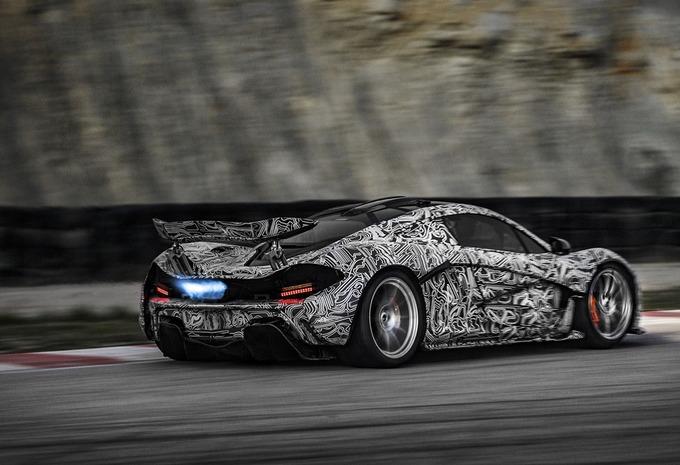 McLaren P1-prototype in actie #2