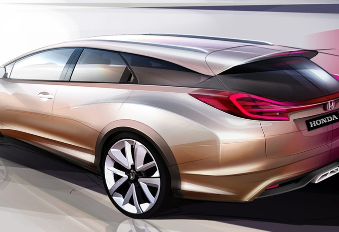 Honda Civic Wagon Concept #1