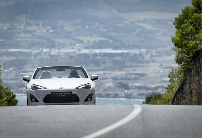 Toyota FT86 Open Concept #3