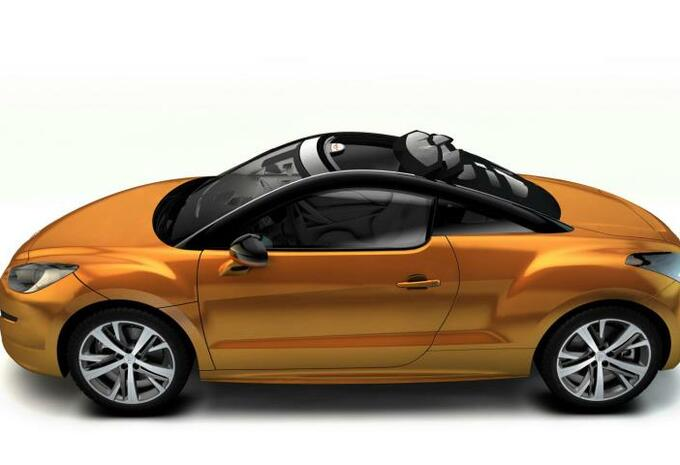 Peugeot RCZ Top View Concept #3