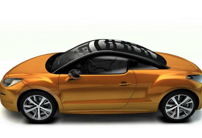 Peugeot RCZ Top View Concept #4