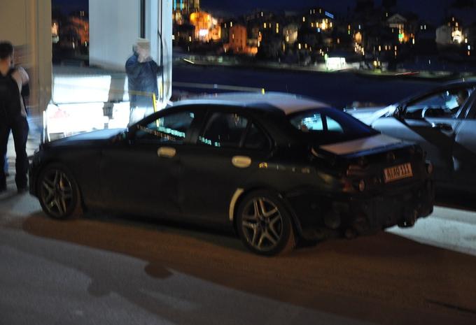 Nieuwe Mercedes C-Klasse betrapt #3