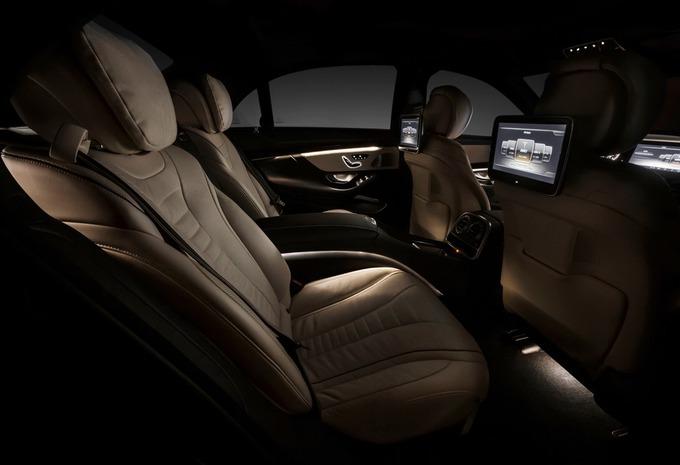L'intérieur de la Mercedes Classe S #1