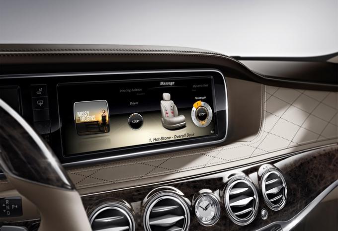 L'intérieur de la Mercedes Classe S #2