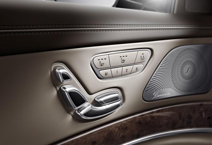 L'intérieur de la Mercedes Classe S #8