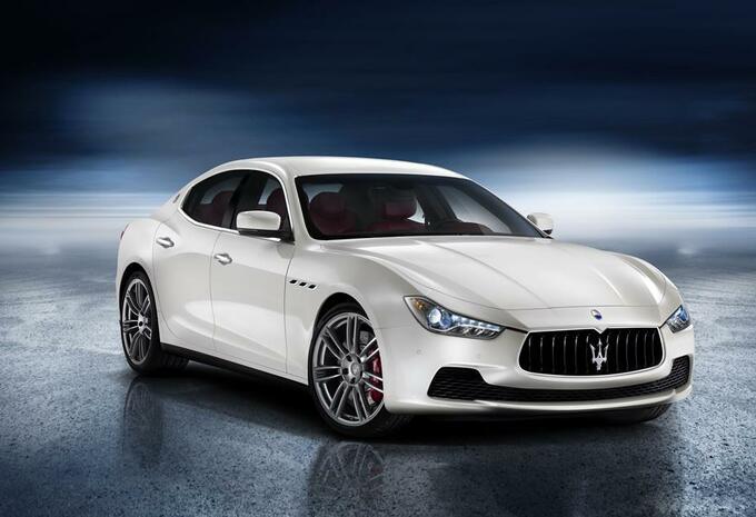 V6 van de Maserati Ghibli #1