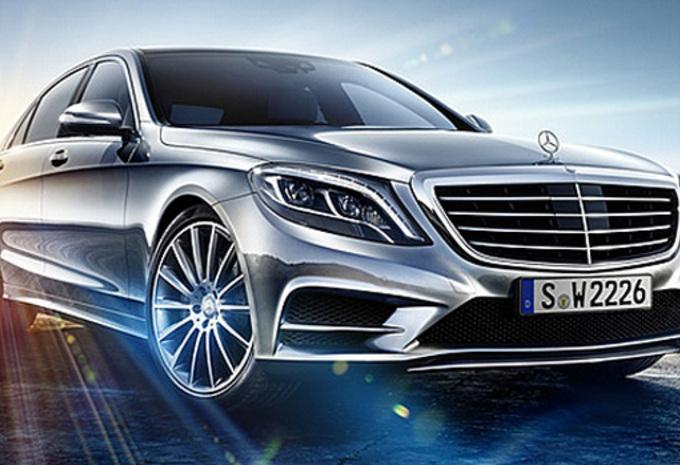 Mercedes S-Klasse gelekt #1