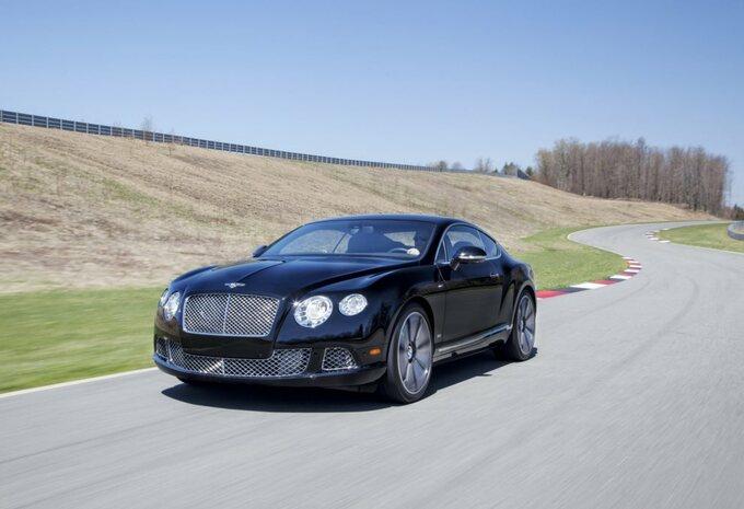 Bentley Continental en Mulsanne Le Mans #1