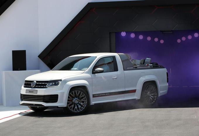 Volkswagen Amarok Power-Pickup #1