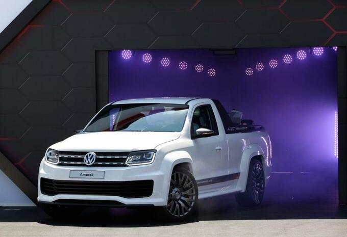 Volkswagen Amarok Power-Pickup #2