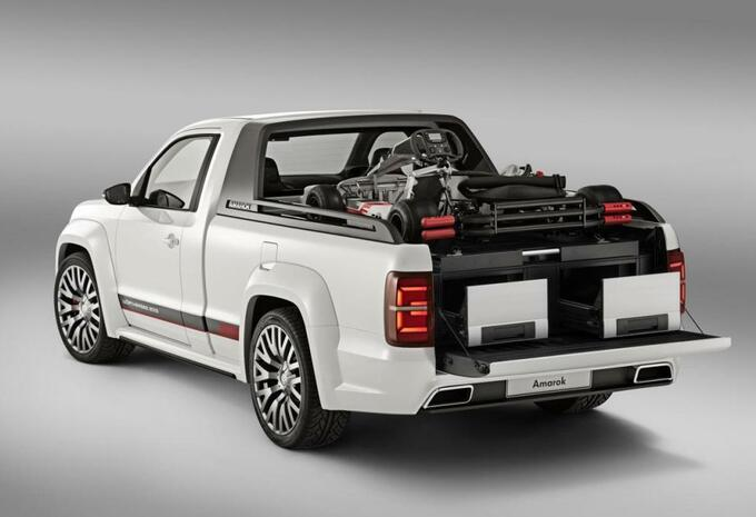 Volkswagen Amarok Power-Pickup #3
