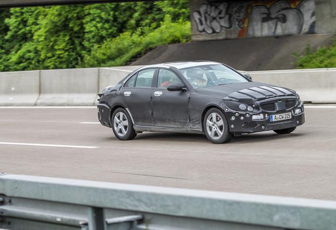 Mercedes Classe C débusquée #1