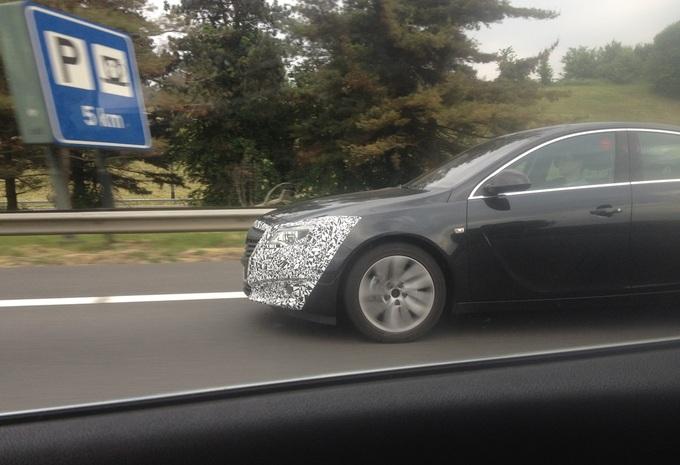 Opel Insignia repérée en Belgique #2